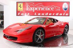 Ferrari 458 ITALIA BERLINETTA $ 299,900 for Sale in Fort Lauderdale, Florida Classified | AmericanListed.com