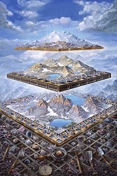 mountain fantasy - John Stephens