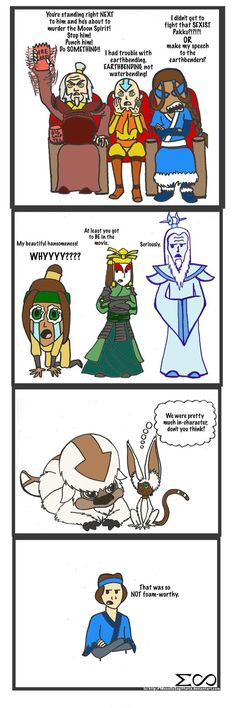 Last Airbender Movie Reactions by ~MenollySagittaria on deviantART