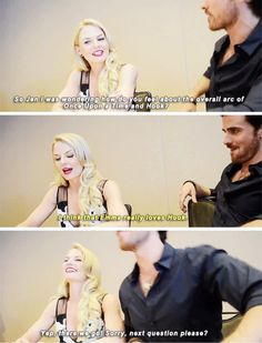 Sdcc 2015. Jennifer Morrison and Colin O'Donoghue