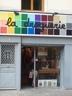 La Droguerie, in Paris! What a truly delightful experience. A few years since I went there, but I plan to return.