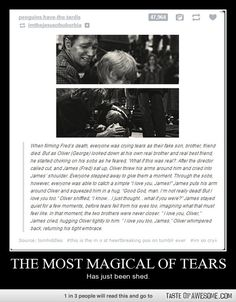 Seriously, if you don't get teary eyed, you ar