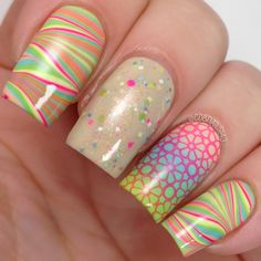 cdbnails: 31 Day Challenge | Day 20 | Water Marble