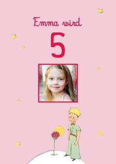 Geburtstagseinladung Der kleine Prinz