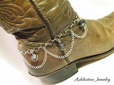 boot jewelry | Home | About Us | Jewlery Galler Boot Jewelry, Western Jewelry, Beaded Jewelry, Jewelry Accessories, Handmade Jewelry, Boho Boots, Cowgirl Boots, Boots Beauty, Boot Bracelet
