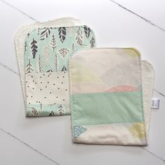Baby gifts should be two things - functional and memorable. Our bibs and burp cloths are durable for everyday use, and beautiful enough to be cherished.