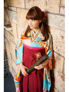 ハイカラさん風 卒業式袴スタイル
