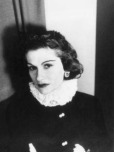 """""""I don't understand how a woman can leave the house without fixing herself up a little, if only out of politeness. And then, you never know, maybe that's the day she has a date with destiny. And it's best to be as pretty as possible for destiny."""" -Coco Chanel"""