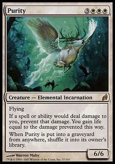 Magic the Gathering Card Reviews: Purity from Lorwyn - #mtg