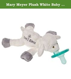 Mary Meyer Plush White Baby Blessing Lamb Wubbanub with Soothie Pacifier ~New~. Patented WubbaNubs combine a soft, easy to hold toy with a top quality pacifier loved by babies, parents, and other experts Made from latex-free, medical grade silicone; No BPA or phthalates 7 WubbaNub with an adorable stuffed lamb embroidered with a cross and the words God Bless Mary Meyer products are all made to strict quality standards to meet or exceed US toy safety requirements Mary Meyer toys are…