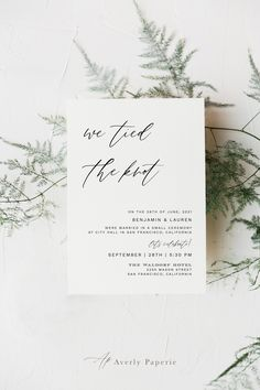 Engagement Party Signs, Elopement Party, Elopement Reception, Wedding Reception Invitations, Homemade Wedding Invitations, Wedding Invitation Fonts, Beach Elopement, Post Wedding, Elope Wedding