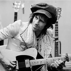 Keith Richards - The backbone of The Stones and the greatest rock n' roll talent to come out of the UK