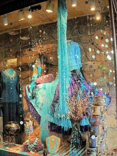 Shop window in Santa Fe