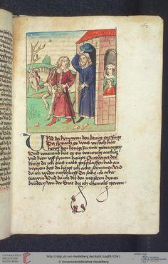 Cod. Pal. germ. 85: Antonius von Pforr: Buch der Beispiele (Schwaben, um 1480/1490), Fol 167r