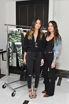 Marielou Bartoli and Chloe Bartoli attend Miranda Kerr hosts Reebok Women luncheon, celebrating inspirational women in fashion and fitness at The London Hotel on November 2015 in West Hollywood,. Get premium, high resolution news photos at Getty Images Miranda Kerr, Online Magazine, London Hotels, Girl Crushes, Reebok, Spring Fashion, Stylists, Classy, Twins