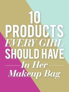10 Beauty Products Every Girl Should Have In Her Bag For Spring