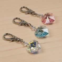 collar charm made with swarovski crystal by petiquette | notonthehighstreet.com