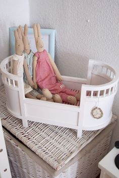 A little doll cot by maileg