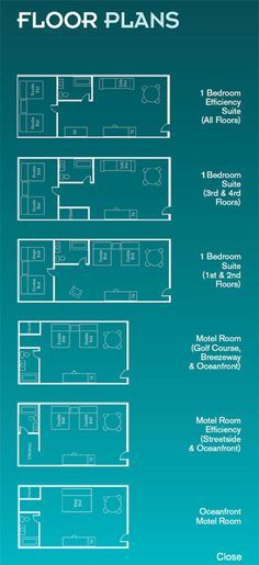 motel room floor plans - Google Search