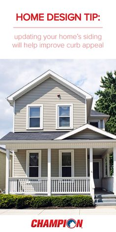 Did you know that updating your home's siding will help improve curb appeal? Champion provides high quality Vinyl, Solid Core and Timberstack siding to increase the value of your home. Created with a state-of-the-art processes, you'll receive vibrant and long-lasting color with little to no maintenance required.