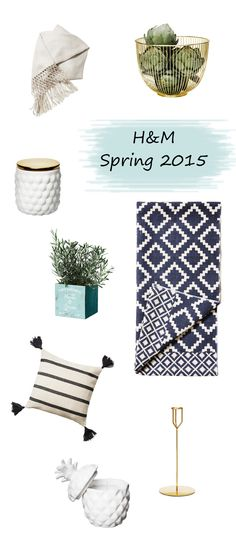 look! pimp your room: Spring 2015 H&M Home