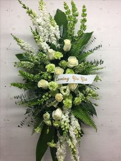 Funeral Floral Arrangements, Creative Flower Arrangements, Church Flower Arrangements, Church Flowers, Funeral Flowers, Wedding Flowers, Green Funeral, Funeral Caskets, Casket Flowers