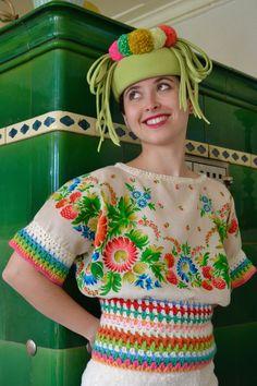 Winterkollektion 2017 Sonja Rieser True Colors, Colours, Captain Hat, Hats, Fashion, Moda, Hat, Fashion Styles, Fasion