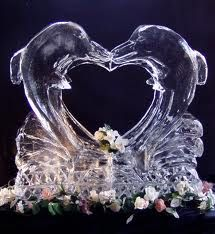 Image result for wedding ice sculptures
