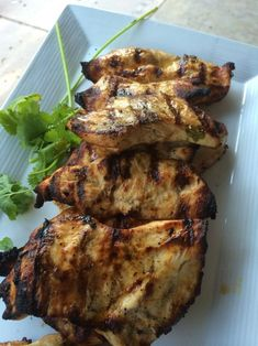 Citrus Cilantro Grilled Chicken for all phases (leave out the oil for Phase 1 and Phase 2)