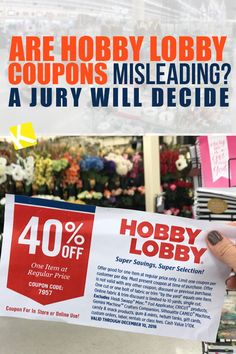 Pinned March 1st 40 off a single item at Hobby Lobby or