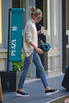 Adoptez le look d'#OliviaPalermo sur http://pickture.com #mode #fashion #ootd #streetstyle