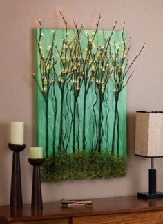 Lina Hookano discovered this by Sarah W. re:  I have to do this for the living room!!!!