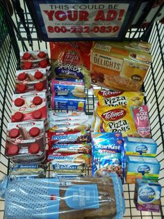 Harris Teeter Super Doubles Trip #6 1/6/14  Total Before Coupons/Discounts $117.09 Total After Coupons/Discounts $16.55 Paid with Gift Card Savings $100.54 85.9%  4 Protein Drinks .49 each (1.96) 2 Fresh Express Shreds FREE 2 Grands Biscuits FREE 2 Jimmy Dean Delights 1.97 each (3.97) 2 Pizza Rolls 1.49 each (2.98) 4 Premier Protein Bars FREE 3 Met Rx Bars FREE 4 Balance Bars FREE 2 Starkist .25 each (.50) Bread 1.17 3 Alka Seltzer Plus 1.69 each (5.07)