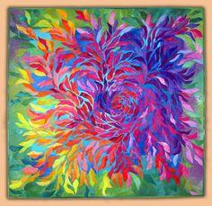 Rose Mandala by Anne Lullie