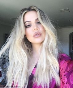 All dolled up! Khloe Kardashian proudly showed off the expert work of her glam squad with a stunning selfie she posted to her Instagram account on Saturday afternoon