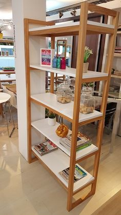 Handmade Furniture, Wood Furniture, Furniture Design, Rack Design, Shelf Design, Wooden Staff, Plywood Shelves, Wooden Pallet Projects, Home And Deco