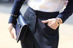 Street Chic: New York Fashion Week Accessories  - ELLE.com