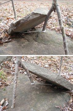 Greasy String Deadfall survival trap