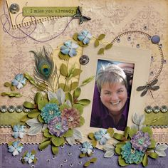 Mother's Day is around the corner, and I decided I will make a scrapbook page of my mother each year now that she has passed. This will be a little way I can remember her on the day we celebrate mom. This layout was created with Someday Soon from Tami Miller Designs. The kit is available here: https://www.pickleberrypop.com/shop/product.php?productid=43967&page=1