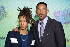 Pin for Later: Will and Jaden Smith Are Complete Opposites at the World Premiere of Suicide Squad