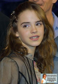 """Emma Watson at the Harry Potter and the Chamber of Secrets DVD Launch in 2003 """" Emma Watson Young, Emma Watson Pics, Emma Watson Cute, Emma Love, Emma Watson Beautiful, Emma Watson Sexiest, Hermione, Harry Potter Film, Emma Watson Joven"""