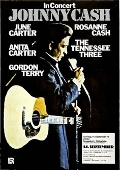 "Johnny Cash Concert Poster Germany 1975  • 100% Mint unused condition • Well discounted price + we combine shipping • Click on image for awesome view • Poster is 12"" x 18"" • Semi-Gloss Finish • Great Music Collectible - superb copy of original • Usually ships within 72 hours or less with > tracking. • Satisfaction guaranteed or your money back. Sportsworldwest.com"