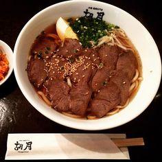 いつかの温麺。#胡月 #年末閉店 #温麺 #別府冷麺 #別府 #肉 #beppu #kogetsu #reimen #麺 #美味しいもの #一斉投稿