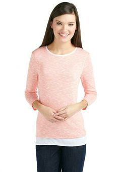 Cato Fashions Striped Layered Look Top #CatoFashions #CatoSummerStyle