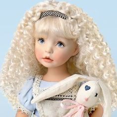 "Dianna Effner ""Alice"" The Alice In Wonderland-Inspired Child Doll by Ashton Drake"