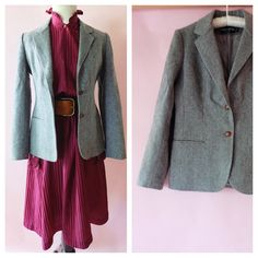 Check out this item in my Etsy shop https://www.etsy.com/listing/466958502/vintage-1970s-wool-blazer-larry-levine