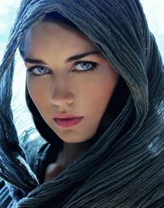 beau visage femme