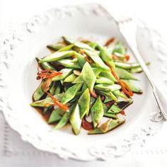 27 december: Snijbonen in de bonus - Recept - Japanse snijbonen met sojasaus - Allerhande