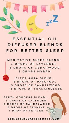 Aromatherapy is a soothing ritual that soothes a tired mind. Get ready for better sleep every night with our essential oil blends for your nightime rituals! Essential Oil Diffuser Blends, Essential Oils, Natural Sleep Remedies, Sleep Issues, Trouble Sleeping, Sleep Better, Good Habits, Bedtime, Aromatherapy