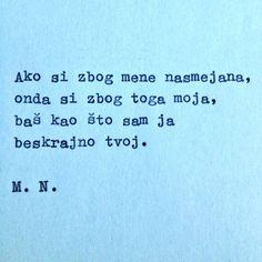 samo tvoj.. :D
